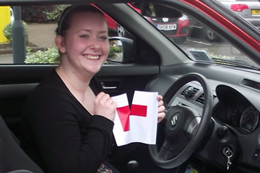 Another newly qualified driver in Glasgow passes with Pass Time